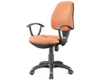 padded office chair / fabric chairs