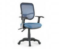 reclining office chair / mesh task chair wellness by design