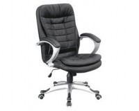 Video – First-Class Cushioned Leather Executive Office Chair