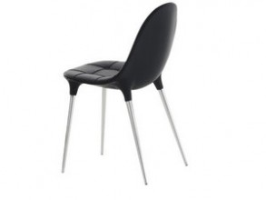 Cassina Caprice Chair Black 3D