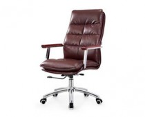 Brown Manager Mid Back Office Chair