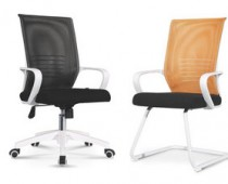 white mesh office chairs