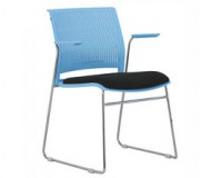 blue conference chairs