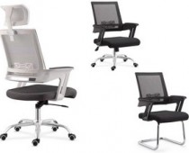 mesh office chair with mesh seat desk armchair