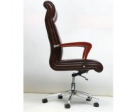 leather managers chair brown leather desk chair