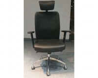 black leather desk chairs