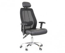 office chair black leather