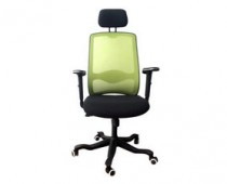 green mesh office chair